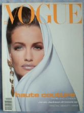 Vogue Magazine - 1991 - April